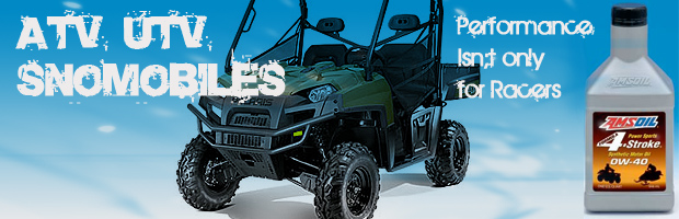 For ATV, UTV's & Snowmobiles