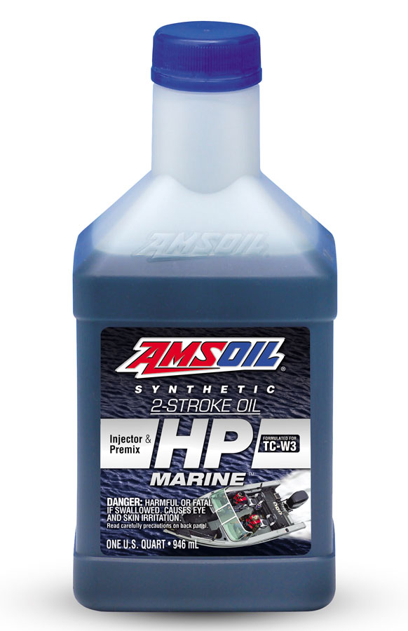 Amsoil hp marine synthetic 2 stroke oil hpm for Best way to store an outboard motor