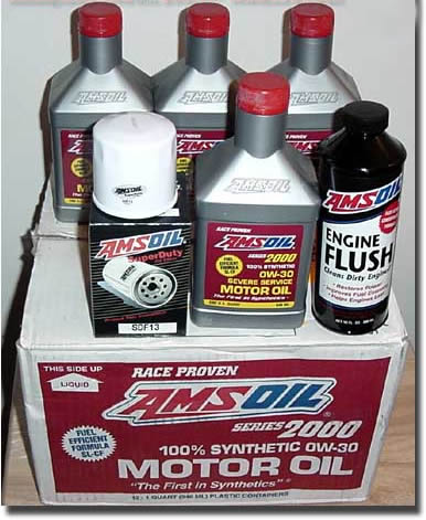 Amsoil install procedure for Best motor oil in the world