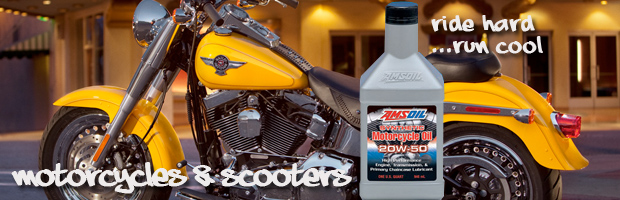 AMSOIL for Motorcycles & Scooters
