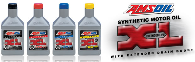 Amsoil Xl Extended Life 10 000 Mile 5w20 5w30 10w30 10w40 Synthetic Gasoline Motor Oils