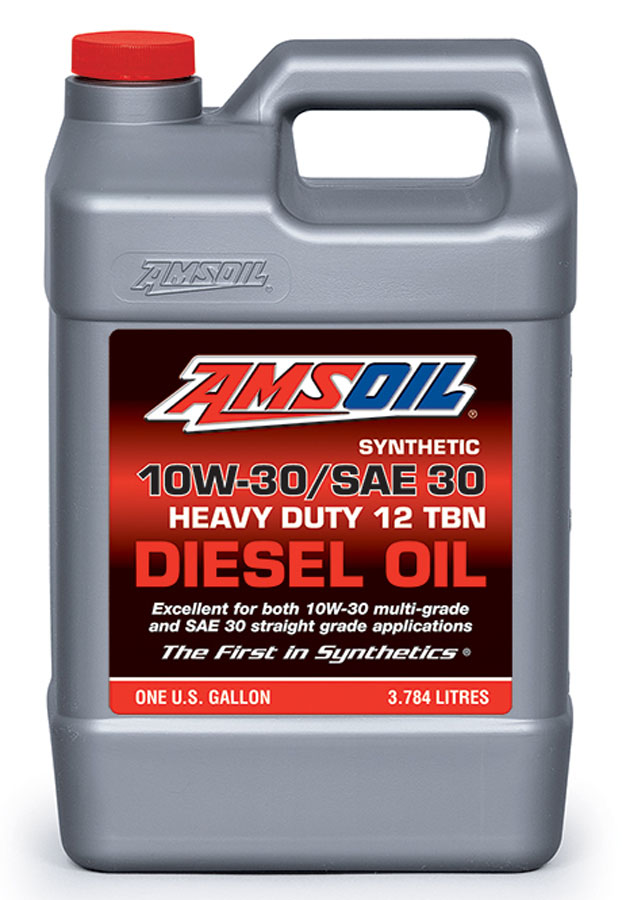 Amsoil Synthetic Sae 10w 30 Sae 30 Heavy Duty Motor Oil Acd