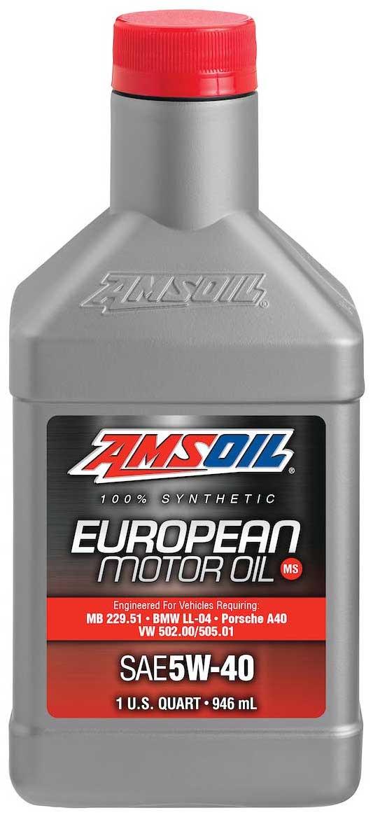 Amsoil European Car Formula 5w 40 Improved Emissions