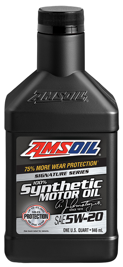 Reviews for amsoil sae 5w 20 signature series 100 for Best motor oil in the world
