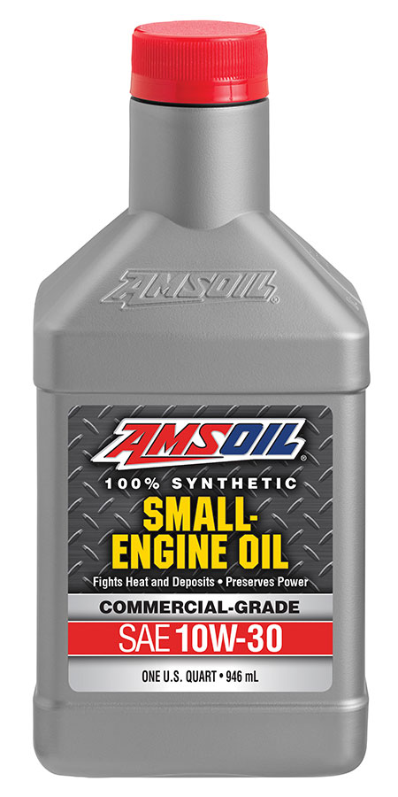 Amsoil 10w 30 synthetic small engine oil commercial for Best motor oil in the world