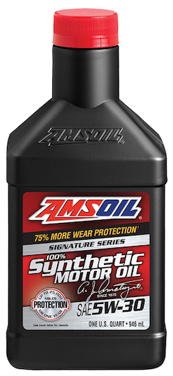 Reviews for amsoil sae 5w 30 signature series 100 for Best motor oil in the world