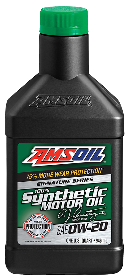 Reviews for amsoil sae 0w 20 signature series 100 for Sae 0w 20 synthetic motor oil