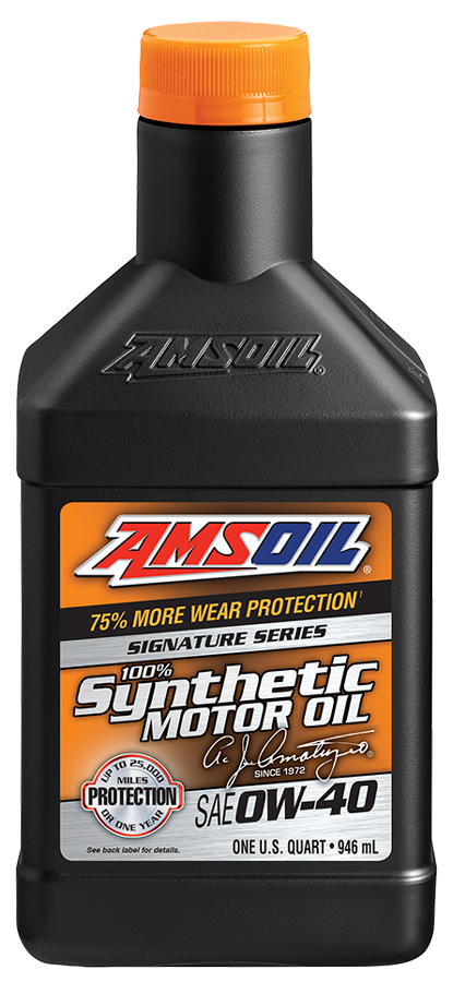 AMSOIL SAE 0W 40 Signature Series Synthetic Motor Oil