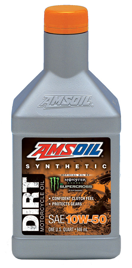 Amsoil synthetic 10w 50 dirt bike oil db50 for Best motor oil in the world