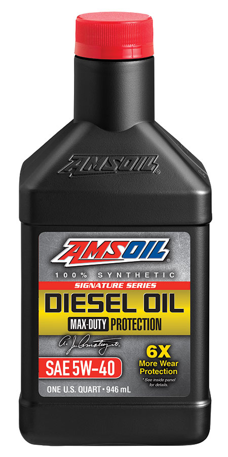 Amsoil signature series max duty synthetic ck 4 diesel oil for Amsoil signature series synthetic motor oil
