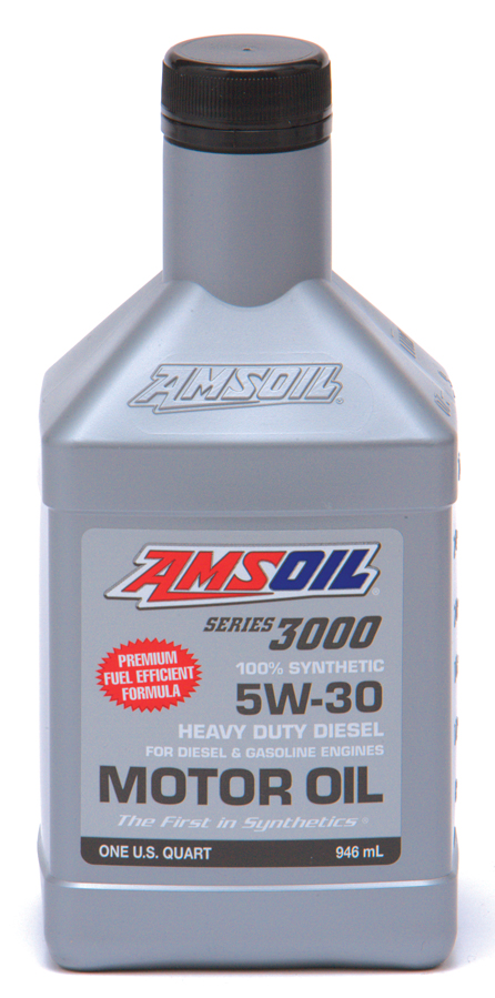 Amsoil 5w 30 series 3000 heavy duty diesel oil hdd for Best motor oil in the world