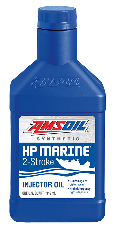 Amsoil hp marine synthetic 2 stroke oil hpm for Best motor oil in the world