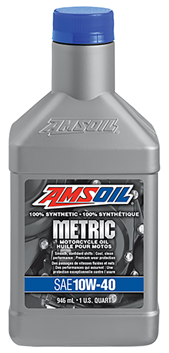 Reviews For Amsoil 10w 40 Synthetic Metric Motorcycle Oil Mcf
