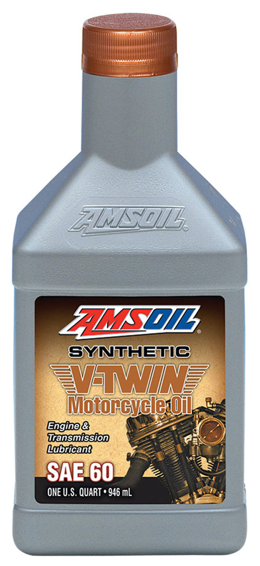 Amsoil sae 60 motorcycle oil mcs for Best motor oil in the world
