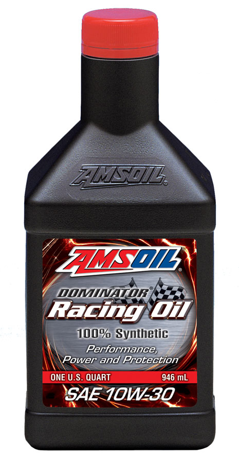 Amsoil dominator synthetic 10w 30 racing oil rd30 for The best motor oil in the world
