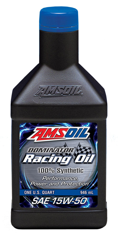 Reviews for amsoil dominator synthetic 15w 50 racing oil for Best motor oil brands