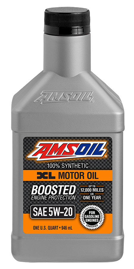 amsoil 5w 20 extended life xlm synthetic motor oil 5w20