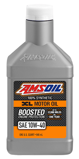 Amsoil 10w 40 synthetic motor oil xlo for Best motor oil in the world
