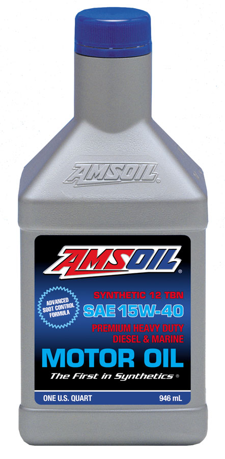 Amsoil 15w 40 heavy duty diesel marine motor oil ame for Best non synthetic motor oil