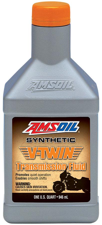 AMSOIL V-Twin Transmission Fluid  Full synthetic oil