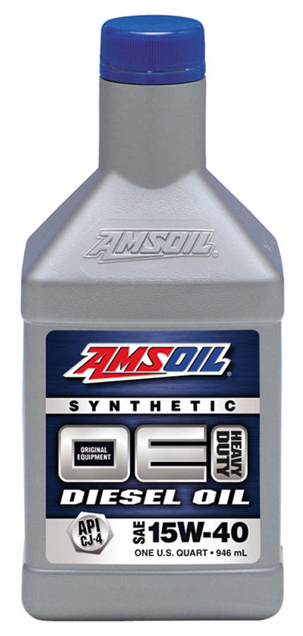 Amsoil oe 15w 40 synthetic diesel oil oed for Best motor oil in the world