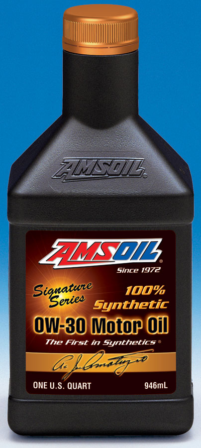 Amsoil 0w 30 signature series sso 100 synthetic 0w30 for What is the best motor oil to use