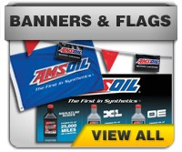 AMSOIL Banners and Flags